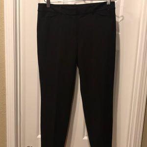 White House black market ankle slim pants size 6 R